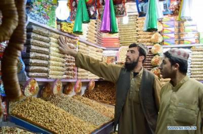 کوئٹہ: سردی کی آمد کے ساتھ ہی خشک میوہ جات کی خریداری میں اضافہ