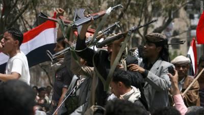یمن میں مختلف جھڑپوں میں 34 افراد ہلاک