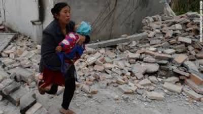 چین میں 6.5 شدت کا زلزلہ، ہلاکتوں کا خدشہ