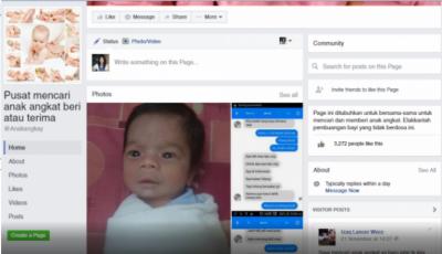 ایشیائی مسلمان ملک میں نو زایئدہ بچوں کی آن لائن فروخت کا انکشاف