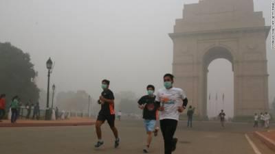 دہلی میں فضائی آلودگی، آتش بازی کے سامان کی فروخت پر پابندی