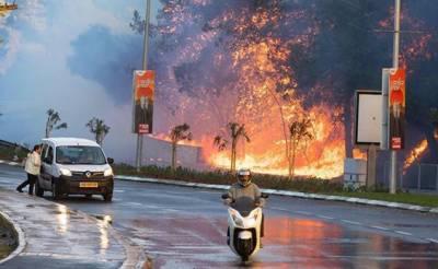 اسرائیل میں آگ بیت المقدس تک پہنچ گئی، آتشزدگی کے الزام میں 22 فلسطینی گرفتار