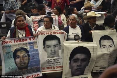 دو سال پہلے طالب علموں کے اغوا میں میکسیکو کی سرکاری فوج شامل تھی،رپورٹ