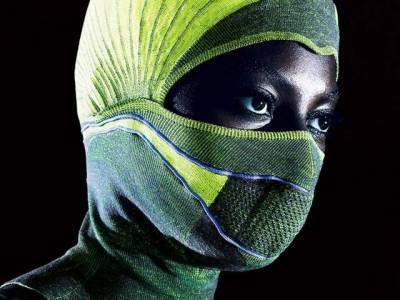 پھیپھڑوں کے انفیکشن سے بچانے والی حجاب نما پوشاک