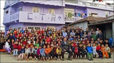 بھارتی ریاست میزورام کا 162 افراد پر مشتمل خاندان