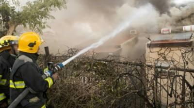 پانچ روز گزر گئے ،اسرائیل میں لگی آگ پر قابو نہ پایاجاسکا