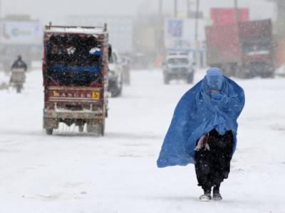 افغانستان، شدید سردی اور برف باری سے 20 افراد ہلاک