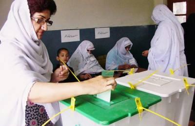 خیبر پختو نخوا :11اضلاع میں ضمنی بلدیاتی الیکشن کیلئےپولنگ جاری