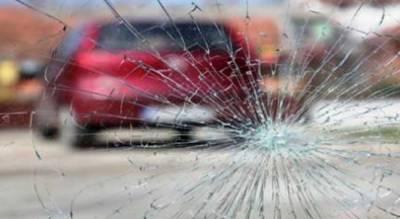 خیر پور روڈ پر کار اور مسافر بس میں تصادم, کار سوار چار افراد موقع پر جاں بحق , دس زخمی