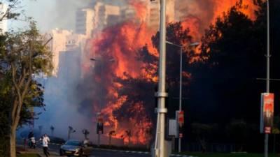 اسرائیل میں لگی آگ پر یہودیوں کے روحانی پیشوا کا عجیب و غریب فتوی