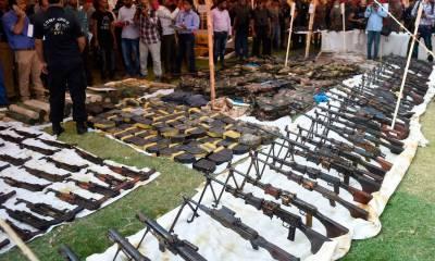 پولیس نے عزیزآباد اسلحہ کیس حل کیے بغیر بند کر دیا