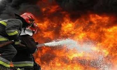 ملتان: رومال بنانے والی فیکٹری میں آتشزدگی