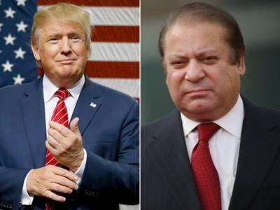 وزیراعظم نواز شریف کا نومنتخب امریکی صدر ڈونلڈ ٹرمپ کو فون، دورہ پاکستان کی دعوت