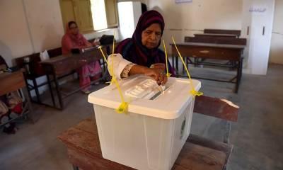 جھنگ میں ہونے والے پی پی 78کے ضمنی انتخاب کیلئے پولنگ کا عمل جاری