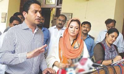 نیو نیوز کی جبری بندش کے خلاف تحریک انصاف کے رہنماء خرم شیر زمان کی سندھ اسمبلی میں قرارداد