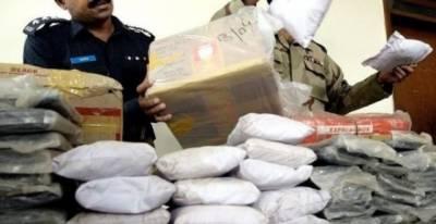 اے این ایف نے 78کروڑ مالیت کی 236کلو گرام منشیات برآمد کر لی