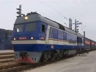پاکستان اور چین کے درمیان ریل اور سمندر ی کارگو سروس شروع ہو گئی
