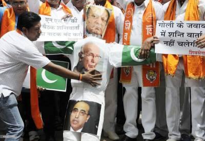 سرتاج عزیز کو بھارت نہیں آنے دیں گے: شیو سینا کی دھمکی