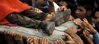 بھارت نہتے انسانوں کا سرِ عام قتل کرنے سے باز نہ آیا