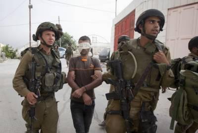اسرائیلی فوج نے گذشتہ ماہ120 بچوں سمیت 527 فلسطینی گرفتار کئے