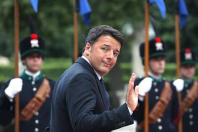 اٹلی کے وزیرا عظم میٹو رینزی نے استعفیٰ دے دیا