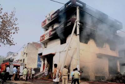 کوئٹہ :مشرقی بائی پاس پرفلور مل میں آگ لگ گئی