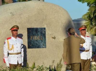 فیڈل کاسترو کی راکھ مقامی قبرستان میں سپرد خاک،لاکھوں آنکھیں اشکبار