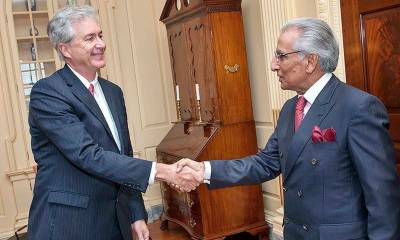 ٹرمپ انتظامیہ سے ملاقات، اہم ترین پاکستانی سفارتی ٹیم واشنگٹن پہنچ گئی