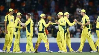 آسٹریلیا نے نیوزی لینڈ کو 166 رنز سے ہرا کر سیریز جیت لی