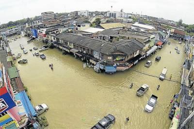 تھائی لینڈ کے جنوبی حصے میں سیلاب کے باعث 14 افراد ہلاک