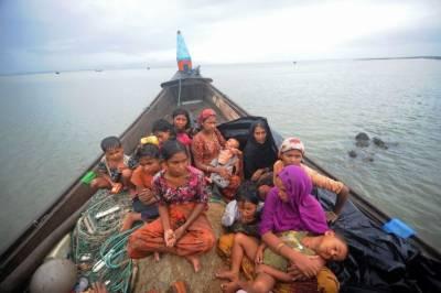 دو ماہ میں 21 ہزار روہنگیا مسلمان میانمار سے فرار ہو کر بنگلہ دیش پہنچے گئے