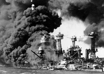 امریکی بندر گاہ پرل ہاربر پر جاپانی حملے کو 75سال بیت گئے