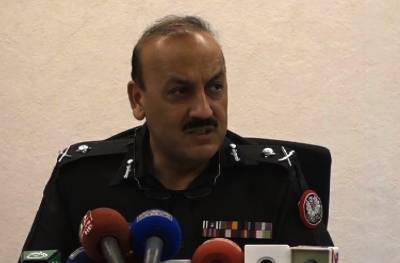دہشت گردی سرحد پار سے ہوتی ہے، جب تک حکومت چاہے گی عہدے پر رہوں گا: آئی جی سندھ