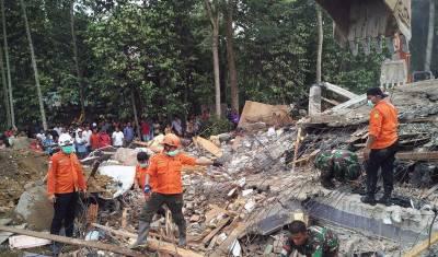 انڈونیشیا میں زلزلے سے 97 افراد ہلاک