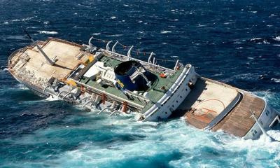 یمن کے ساحلوں کے قریب ایک بحری جہاز کی غرقابی کے بعد تقریباً 60 افراد لاپتہ