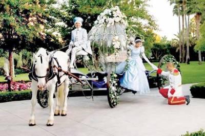 شادی کا دن یادگاربنانے کیلئے ڈزنی لینڈ کی انوکھی پیشکش