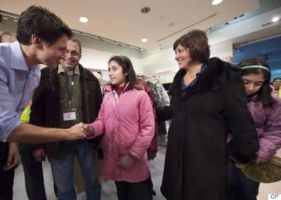 شامی مہاجر کی داستان سفر سن کر کینیڈین وزیراعظم رو پڑے