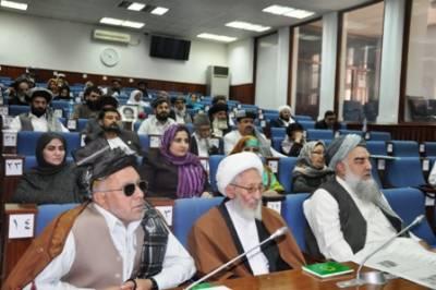 روس اور ایران طالبان کی مدد کر رہے ہیں: افغان سینٹ