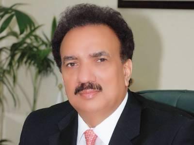 رحمن ملک نے کرپشن کےخلاف عمران خان کی حمایت کردی
