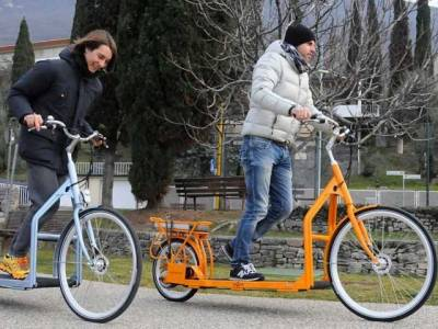 ہا لینڈ نے منفرد الیکٹرک سائیکل تیار کر لی