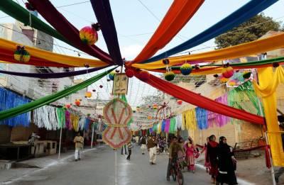 جشن عید میلاد النبیﷺ، ملک بھر میں جلوس اور ریلیاں