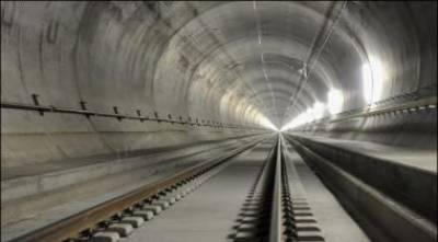 طویل ترین سرنگ ریلوے ٹریفک کیلئےکھول دی گئی