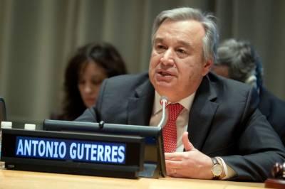 اقوام متحدہ کے نئے سیکرٹری جنرل ِانٹونیوگوٹرزنے حلف اٹھا لیا