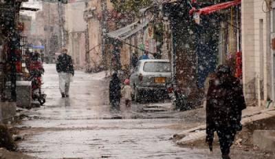 کوئٹہ سمیت بلوچستان کے مختلف بالائی علاقوں میں موسم کی تازہ ترین صورتحال