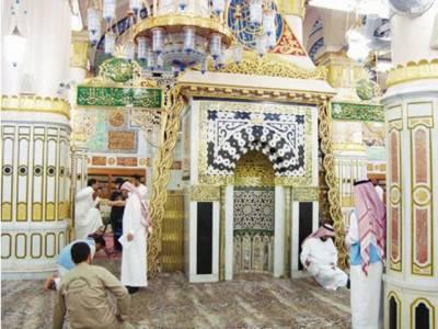 مسجدنبویﷺمیں موجود'ریاض الجنتہ'کے بارے میں ایمان افروز معلومات جانئے