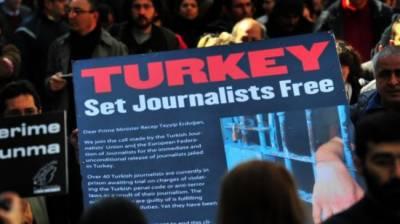 ترکی صحافیوں کو جیلوں میں ڈالنے والا پہلاملک،چین دوسرے نمبرپر