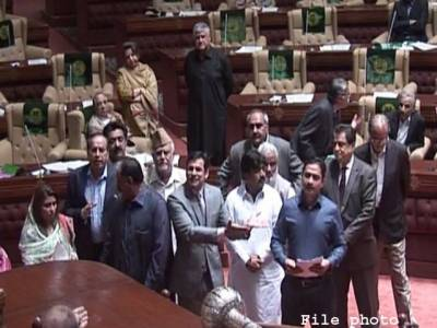 اپوزیشن کا ہنگامہ ،قومی اسمبلی کا اجلاس کل شام 4 تک معطل کر دیا