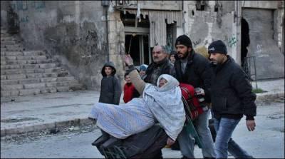 حلب سےشہریوں کے انخلا کا معاہدہ تہہ پا گیا