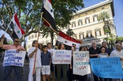 حلب میں جاری فوجی آپریشن کیخلاف دنیا کے مختلف شہروں میں مظاہرے