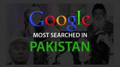 رواں سال پاکستانی گوگل پر سب سے زیادہ تلاش کی جانے والی شخصیات کی فہرست جاری